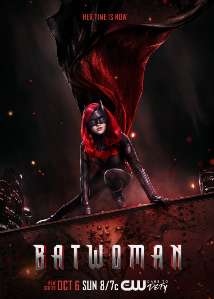 The CW Releases New Batwoman Key Art
